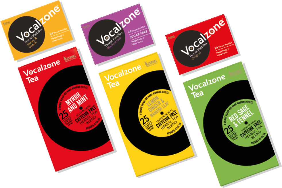 The Complete Vocalzone Range
